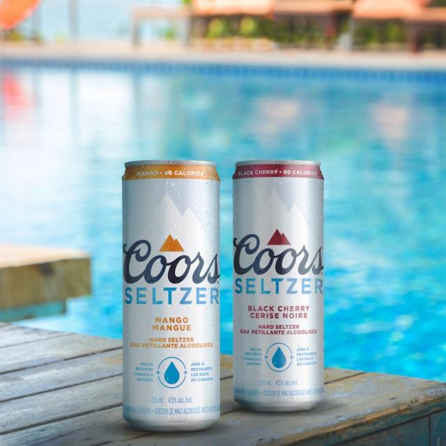 Coors Seltzer is getting its own page as we continue our mission to help restore Canada's waters! Make sure to follow @coorsseltzerca for everything you need to know about your favourite seltzer!