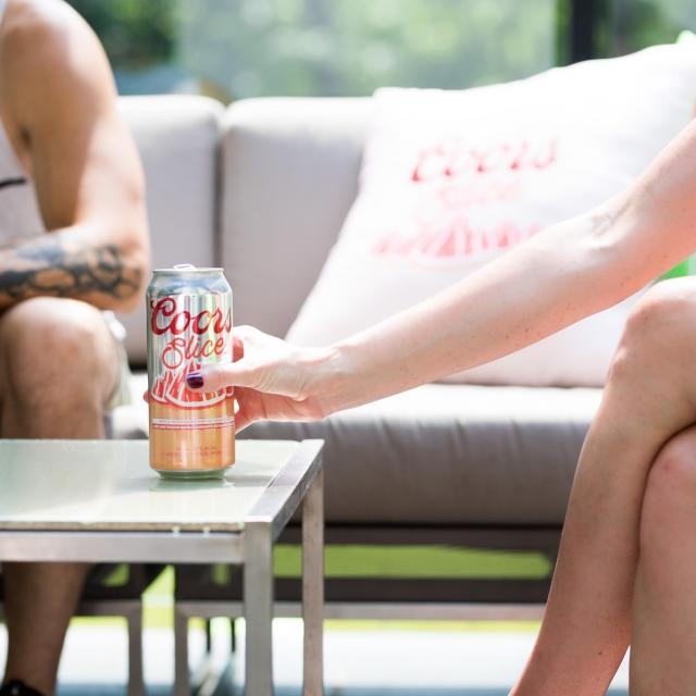 With juuuust a hint of grapefruit, Coors Slice is your go-to refreshment for those sunny days!