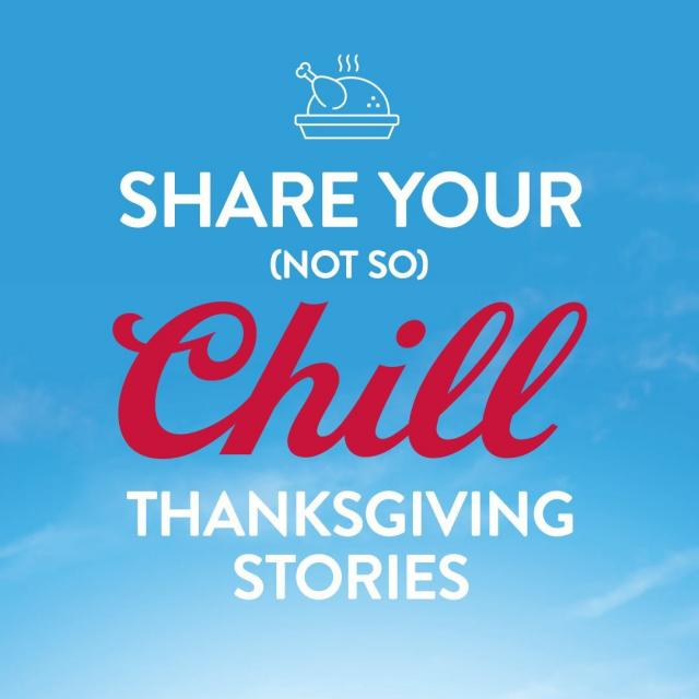 Everybody has a crazy Thanksgiving story. Dare to share it in the comments? 👀👇