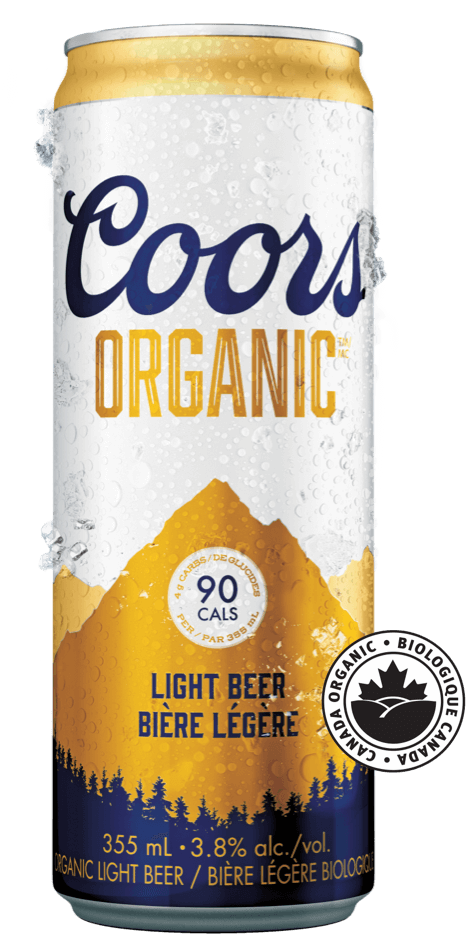 Coors Organic Can